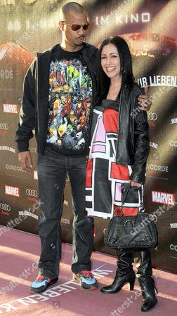 Patrice Bouedibela and Anastasia Zampounidis