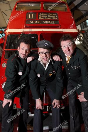Paul Zenon,Harry Hill and Lee Mack