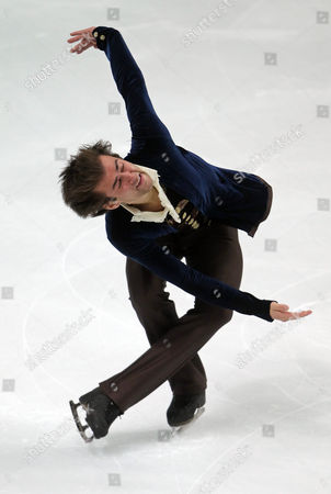 Ryan Bradley of the Usa Performs During the Men's Free Skating at the Figure Skating World Championships 2011 in Moscow Russia 28 April 2011 Russian Federation Moscow