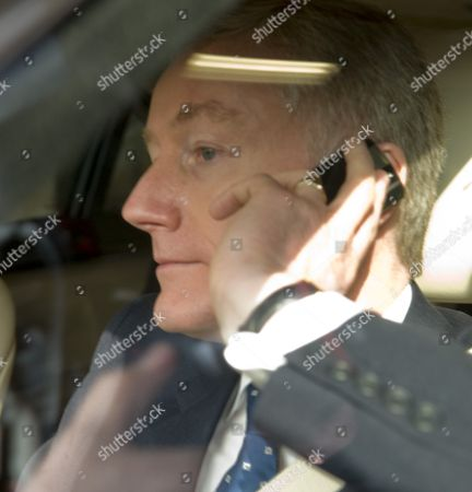 Royal Bank of Scotland Chief Executive Sir Fred Goodwin leaving the AGM