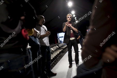 Models Prepare For the Marc Ecko Show at Fashion Week La in Los Angeles California Usa On 22 March 2009