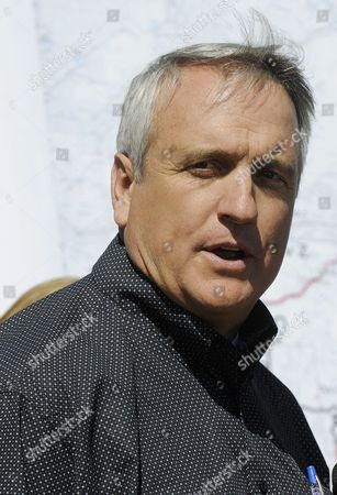 Colorado Governor Bill Ritter Speaks at a Press Conference Following a Tour of the Fourmile Canyon Fire Near Boulder Colorado Usa 10 September 2010 the Fire the Most Destructive in Colorado History in Terms of Homes Destroyed Could Be Fully Contained in Three to Five Days Officials Said Midday on 10 September 2010 United States Boulder