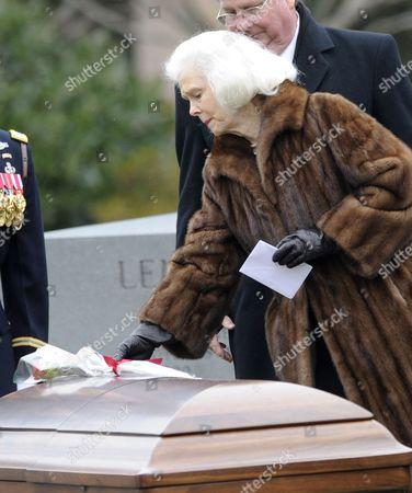 Editorial photo of Usa Haig Funeral - Mar 2010