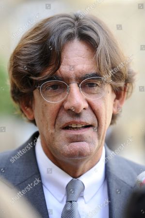 French Former Minister of Education Luc Ferry Speaks to Journalists After His Meeting with French President Nicolas Sarkozy (unseen) at the Elysee Palace in Paris France 10 September 2008 French President Nicolas Sarkozy Ordered Him a Report on a Civic Service That Would Replaced the Former National Military Service That was Stopped by French Former President Jacques Chirac France Paris
