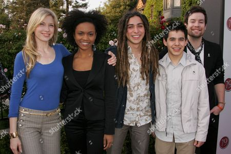 Brooke White, Syesha Mercado, Jason Castro, David Archuleta and