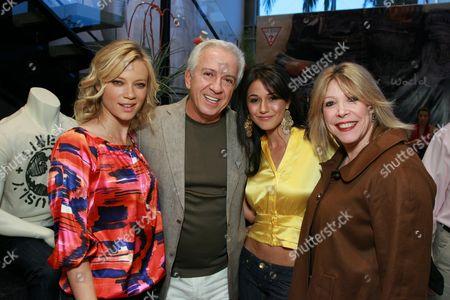 Amy Smart, Paul Marciano, Emmanuelle Chriqui & Debbie Levine