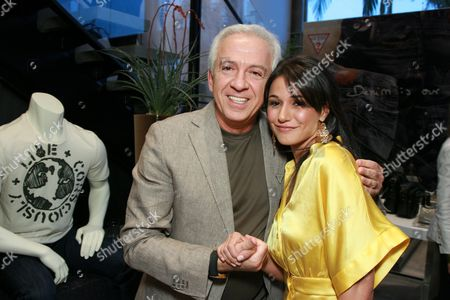 Paul Marciano and Emmanuelle Chriqui