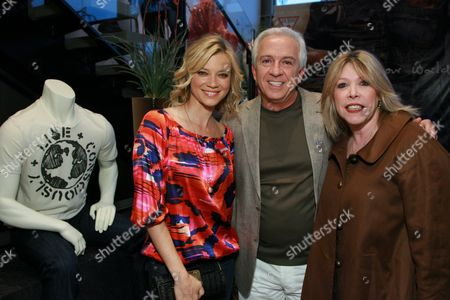 Amy Smart, Paul Marciano  and EMA's Debbie Levine