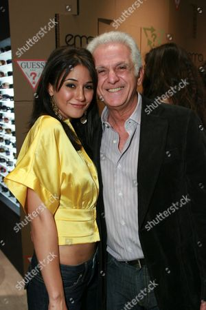 Emmanuelle Chriqui and Maurice Marciano