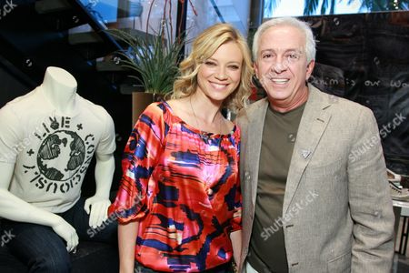 Amy Smart and Paul Marciano