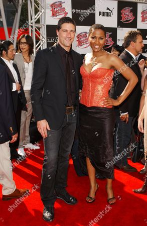 Stock Photo of Matthew Fox and Nayo Wallace