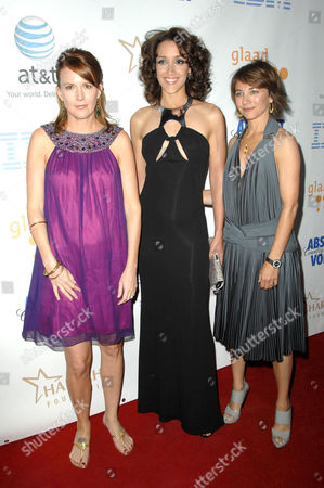 Laurel Holloman, Jennifer Beals and Llene Chaiken