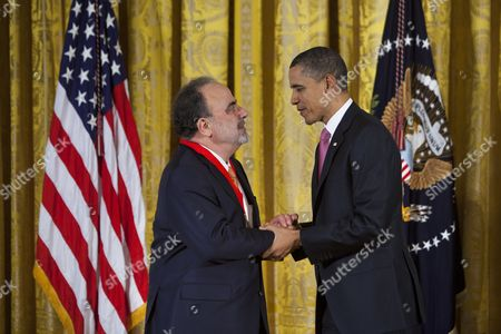 Editorial image of Usa Obama Humanities Medal - Mar 2011