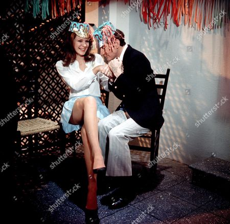 'Carry on Abroad'   Films Gail Grainger and Kenneth Williams