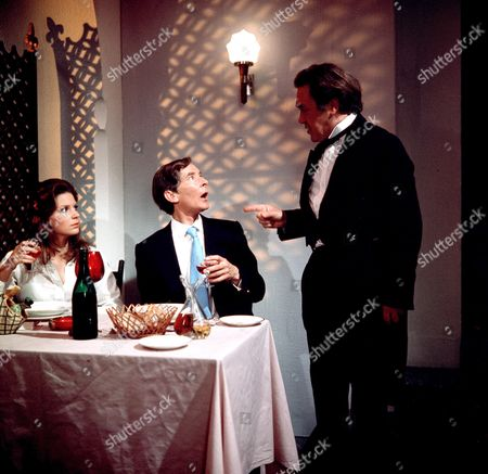 Stock Picture of 'Carry on Abroad'   Films Gail Grainger, Kenneth Williams and Peter Butterworth