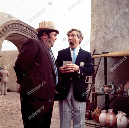Stock Photo of 'Carry on Abroad' Films  Gertan Klauber, Kenneth Williams