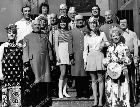 'Carry on Abroad'   Film General Group picture with Sally Geeson and Gail Grainger.