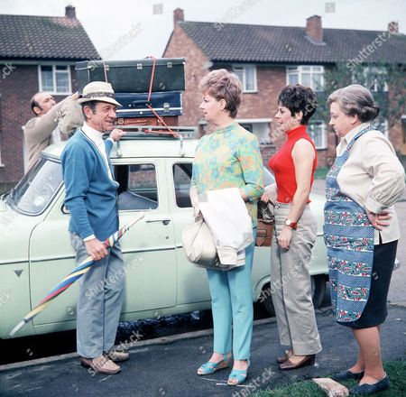 ' Carry on Camping'   Film Sid James, Joan Sims, Dilys Laye and Amelia Bayntun