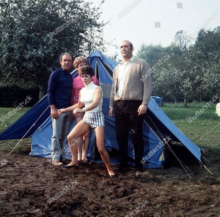 ' Carry on Camping'   Film Sid James, Dilys Laye and Bernard Bresslaw
