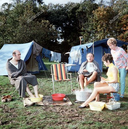 ' Carry on Camping'   Film - Bernard Bresslaw, Sid James, Dilys Laye and Joan Sims