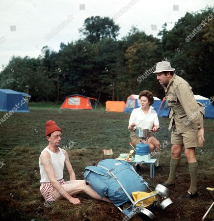 ' Carry on Camping'   Film Charles Hawtrey, Betty Marsden and Terry Scott