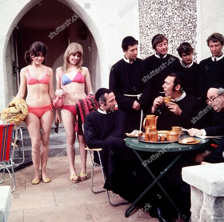 'Carry on Abroad'   Films Carol Hawkins and Sally Geeson with Bernard Bresslaw and Derek Francis