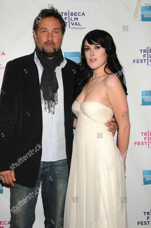Director Phedon Papamichael and Rumer Willis