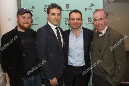 Tim Key (Yvan), Rufus Sewell (Serge), Matthew Warchus (Director) and Paul Ritter (Marc)