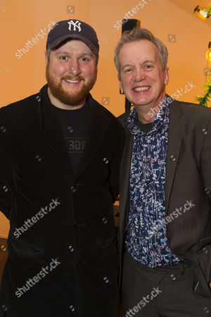Tim Key (Yvan) and Frank Skinner