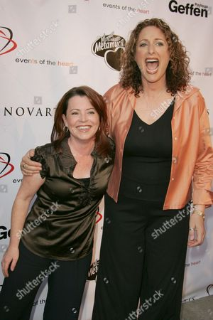 Stock Photo of Kathleen Madigan and Judy Gold