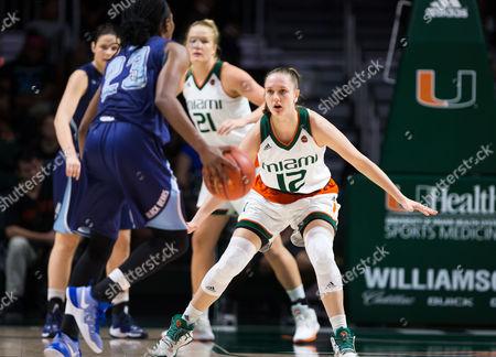 Editorial image of NCAA Women's Basketball Maine vs Miami, Coral Gables, USA - 20 Dec 2016