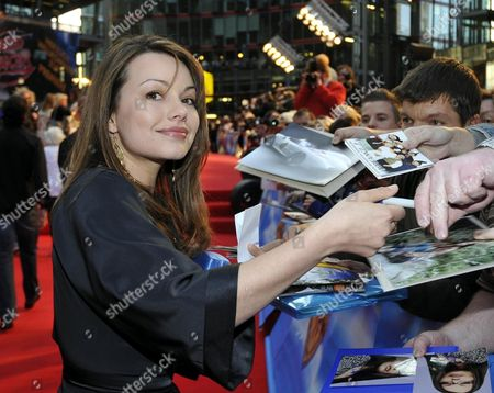 Cosma Shiva Hagen signing autographs