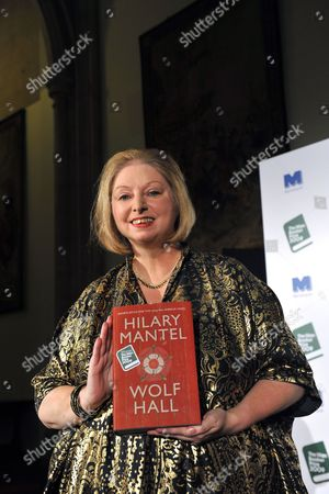 Winner of the 2009 Man Booker Prize British Novelist Hilary Mantel Poses For Photographers with Her Book 'Wolf Hall' After the Winner Announcement Held at London's Guildhall 6 October 2009 This Year's Shortlist Included As Byatt (the Children's Book) Jm Coetzee (summertime) Adam Foulds (the Quickening Maze) Simon Mawer (the Glass Room) and Sarah Waters (the Little Stranger) the Man Booker Prize is Britain's Most Coveted Literary Recognition and is Awarded Each Year For the Best Original Full-length Novel Written in the English Language by a Citizen of the Commonwealth of Nations Or Ireland United Kingdom London