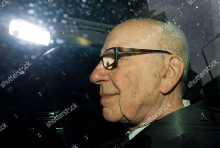 Media Magnate Rupert Murdoch Leaves His London Apartment London Great Britain 18 July 2011 Britain's Senior-most Police Officer Sir Paul Stephenson Resigned Late 17 July As a Result of Allegations Over Scotland Yard's Links to the Rupert Murdoch Newspaper at the Centre of the Phone-hacking Scandal United Kingdom London