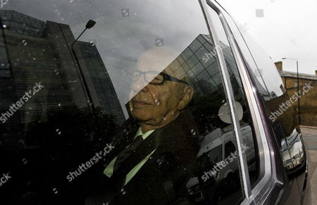 Rupert Murdoch Chairman of News Corporation Arrives to News International Headquarters in London Britain 18 July 2011 Britain's Senior-most Police Officer Sir Paul Stephenson Resigned Late 17 July As a Result of Allegations Over Scotland Yard's Links to the Rupert Murdoch Newspaper at the Centre of the Phone-hacking Scandal United Kingdom London