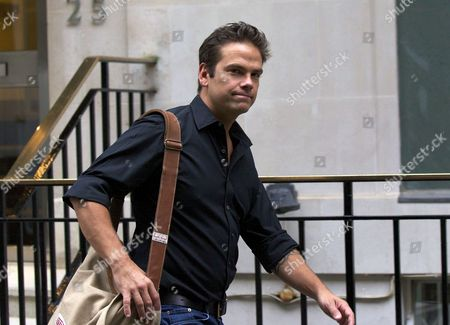 Media Magnate Rupert Murdoch's Son Lachlan Leaves His London Apartment London Great Britain 18 July 2011 Britain's Senior-most Police Officer Sir Paul Stephenson Resigned Late 17 July As a Result of Allegations Over Scotland Yard's Links to the Rupert Murdoch Newspaper at the Centre of the Phone-hacking Scandal United Kingdom London