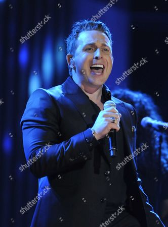 Stock Picture of Canadian Country Singer Johnny Reid Performs at the 40th Annual Juno Awards For Canadian Music in Toronto Canada on 27 March 2011 Canada Toronto