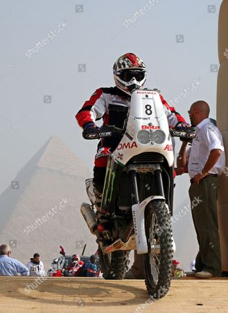 Editorial photo of Egypt Motor Rallying Pharaons Rally - Oct 2010
