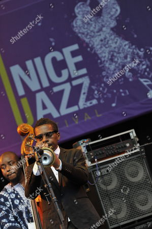 Us Jazz Player Roy Hargrove (front) Performs During the Nice Jazz Festival 2011 in Nice France 12 July 2011 the Festival Takes Place From 08 to 12 July France Nice