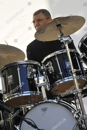 Us Drummer Jack Dejohnette Performs with Us Jazz Pianist Keith Jarrett (not Pictured) and Double-bassist Gary Peacock (not Pictured) During a Rehearsal of the 51st 'Jazz a Juan' Festival in Antibes Juan Les Pins France 16 July 2011 the Festival Takes Place From 14 to 24 July 2011 France Antibes Juan Les Pins