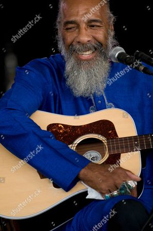 U S Folk Singer and Guitarist Richie Havens Performs at the Solidays Music Festival on the Outskirts of Paris France 06 July 2008 Havens is Best Known For His Powerful Performance of 'Freedom' at the Woodstock Festival in 1969 the Annual Solidays Festival Which is Aimed at Raising Funds For the Fight Against Aids Celebrates Its 10th Anniversary This Year France Paris