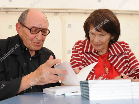 The Widower of Former French President Francois Mitterrand Danielle Mitterrand (r) Meets Jean-michel Rosenfeld (l) During the Second Day of the Socialist Universite D'ete in La Rochelle France 28 August 2010 the Annual 'Summer School' is where Party Leaders and Members Come Together to Discuss Past Mistakes and Future Strategies France La Rochelle
