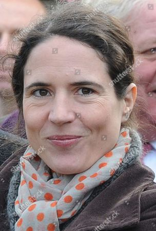Stock Photo of Mazarine Marie Pingeot French Writer and the Daughter of Former French President Francois Mitterrand Attends the 15th Anniversary of the Death of the Former French President Francois Mitterrand Commemorated at the Cemetery in Jarnac France 08 January 2011 France Jarnac