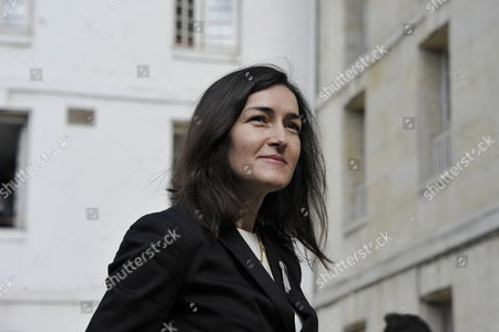 Spanish Culture Minister Angeles Gonzalez-sinde Attends a Ceremony in Homage of Spanish Writer Intellectual and Former Culture Minister Jorge Semprun in Paris France on 11 June 2011 Semprun who Went Into Exile in France Leaving Spain with His Family After the Spanish Civil War Died on 07 June 2011 at His Home in Paris at the Age of 87 Semprun's Funeral Will Be Held Sunday 12 June 2011 As a Close Family Affair in Garantreville Near Paris France Paris