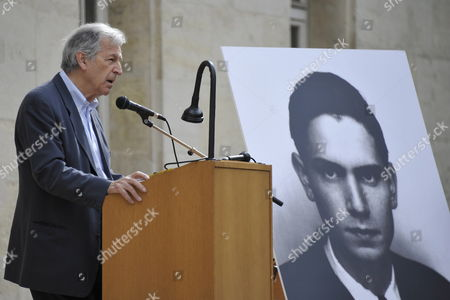 French Movie Director Costa Gavras Delivers a Speech During a Ceremony in Homage of Spanish Writer Intellectual and Former Culture Minister Jorge Semprun in Paris France on 11 June 2011 Semprun who Went Into Exile in France Leaving Spain with His Family After the Spanish Civil War Died on 07 June 2011 at His Home in Paris at the Age of 87 Semprun's Funeral Will Be Held Sunday 12 June 2011 As a Close Family Affair in Garantreville Near Paris France Paris