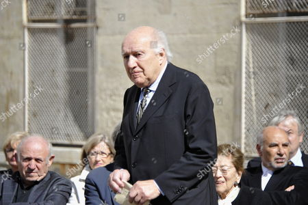French Actor Michel Piccoli Attends a Ceremony in Homage of Spanish Writer Intellectual and Former Culture Minister Jorge Semprun in Paris France on 11 June 2011 Semprun who Went Into Exile in France Leaving Spain with His Family After the Spanish Civil War Died on 07 June 2011 at His Home in Paris at the Age of 87 Semprun's Funeral Will Be Held Sunday 12 June 2011 As a Close Family Affair in Garantreville Near Paris France Paris