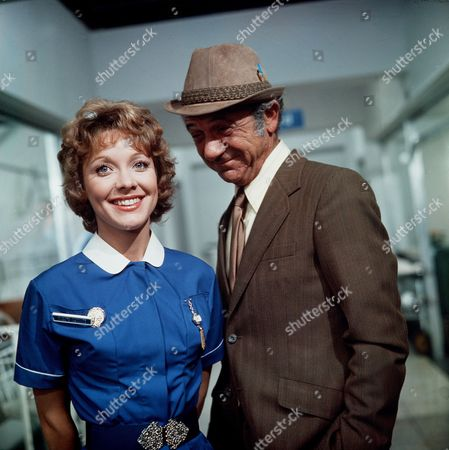 Stock Image of 'Carry On Matron'   Film Jacki Piper and Sid James