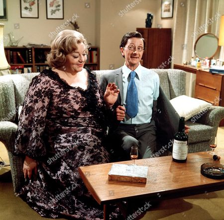 'Carry On Matron'   Film Hattie Jacques and Charles Hawtrey
