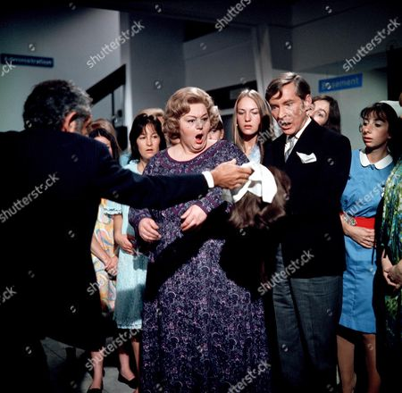'Carry On Matron'   Film Sid James, Hattie Jacques and Kenneth Williams