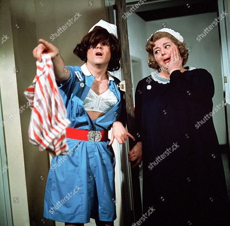 'Carry On Matron'   Film Kenneth Cope and Hattie Jacques